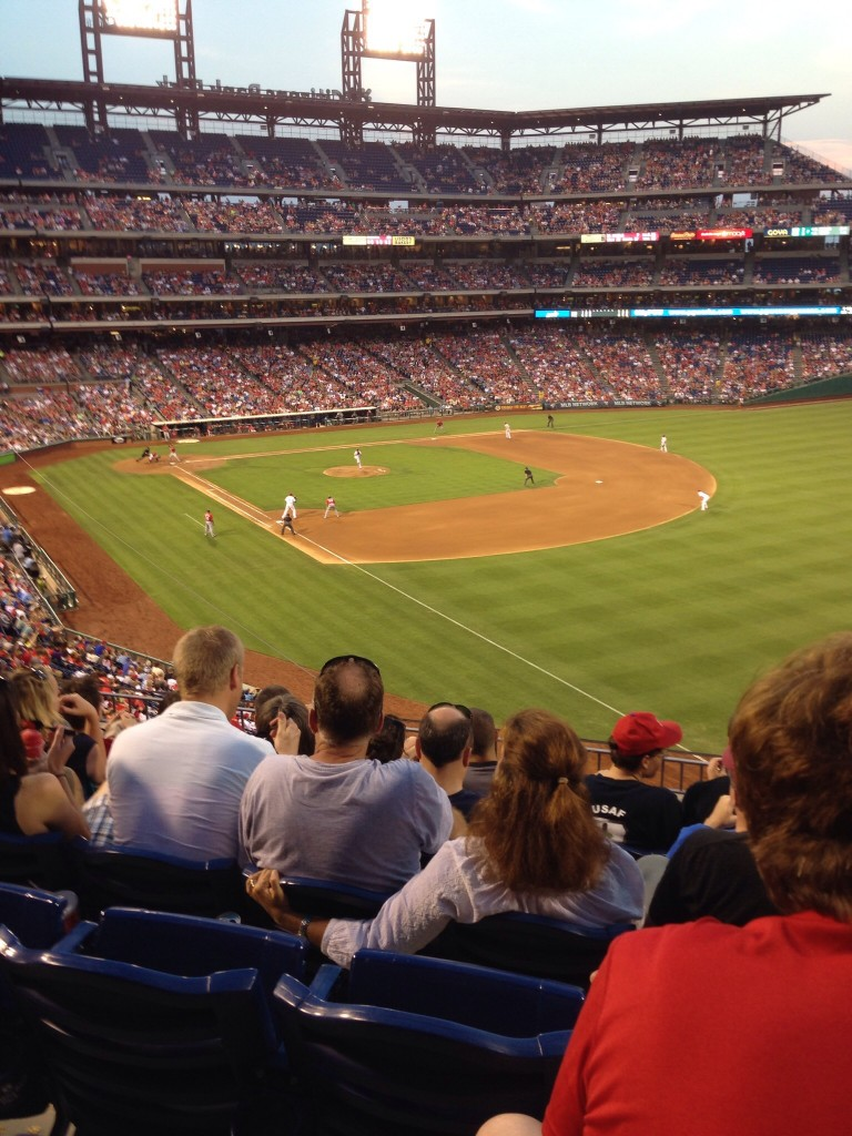 The Phillies ballpark. Beautiful, safe, and friendly.