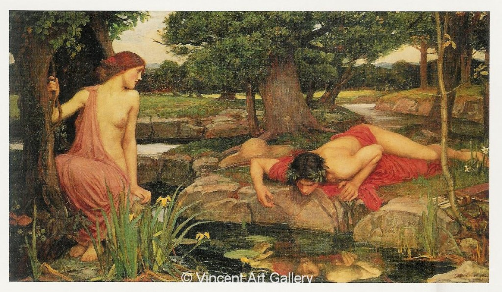 Echo and Narcissus. Who is the myth really about?
