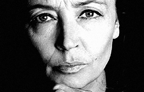 Oriana Fallaci. As brave as she was beautiful.