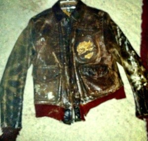Saw my dad's flight jacket. Wanted more provenance.