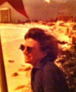 My mother in Cancun, 1984. You should have seen her in Paris, 1963.