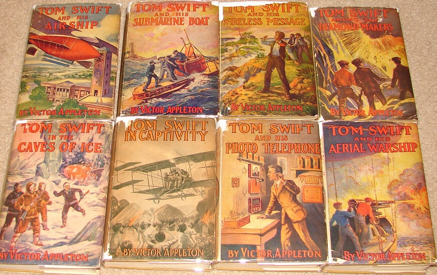 You want the boy to read? Try these.