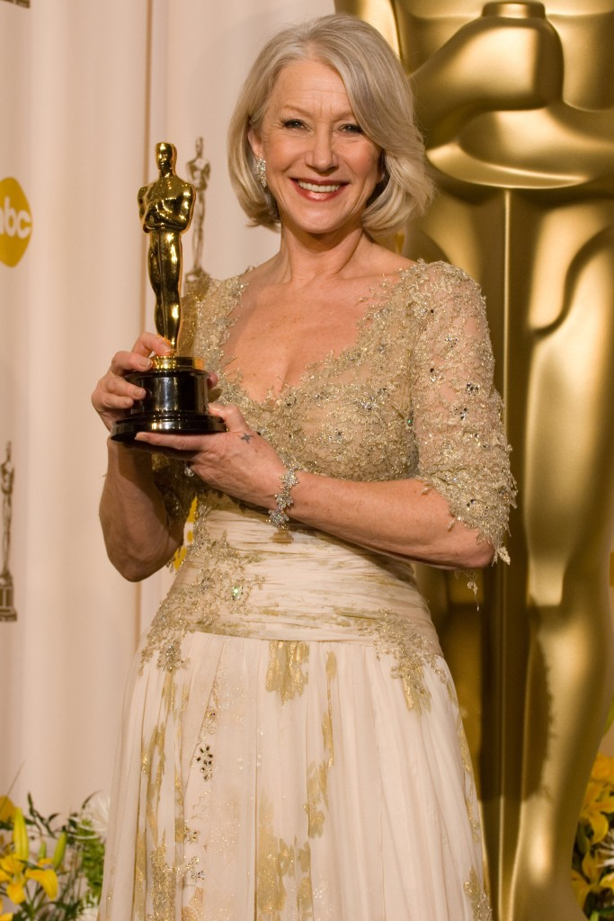 Helen Mirren is the ace of aces among women. Incredibly beautiful without being pretty at all.