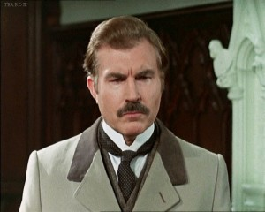 David Burke was fine as the well dressed sidekick Watson.