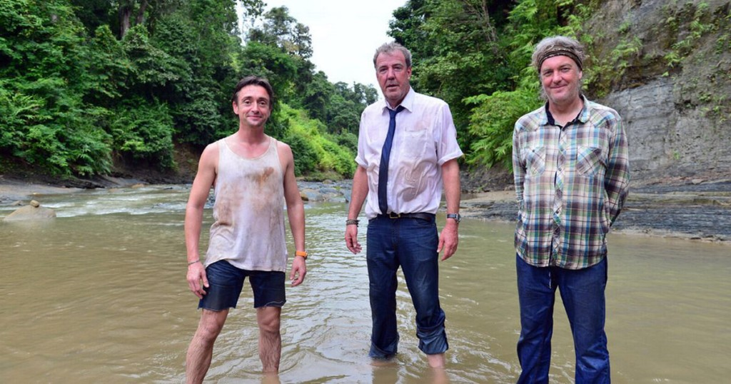Clarkson, Hammond, and May.