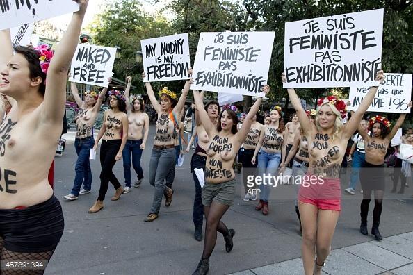 Je suis feministe. You go, jeune fille.