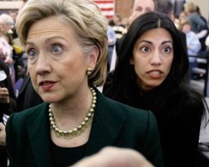 """I did NOT make a mistake with my emails, Mortimer. Er, Charlie. Er, Huma."""
