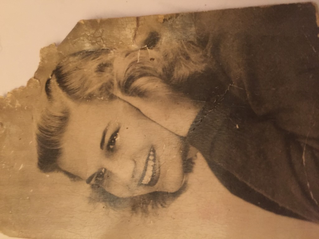 My mother. Found her picture.