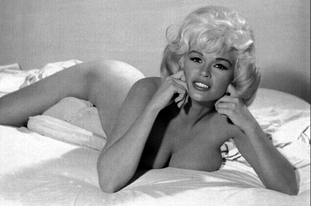 Jayne Mansfield. Generously built and inclined.