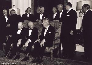 Possible that Winston Churchill was Patient Zero.
