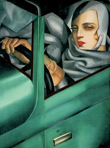 Her name was Lempicka. Just imagine a Madonna with talent.