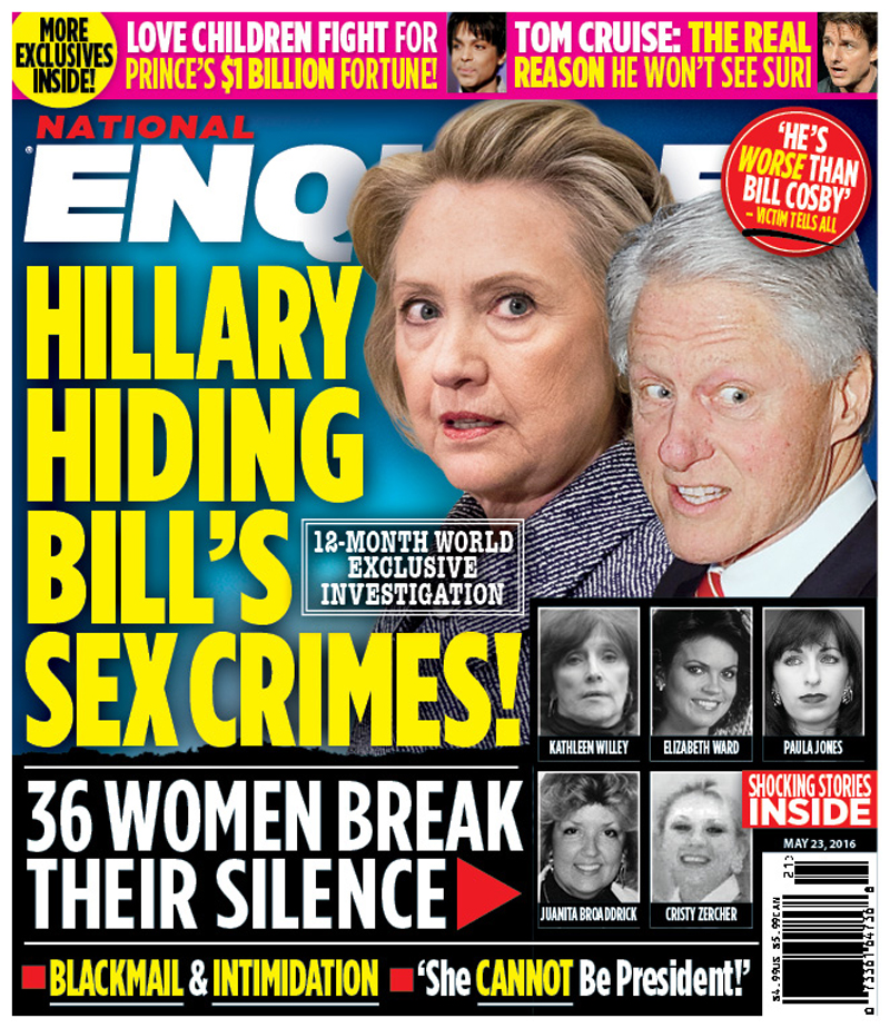 She didn't it! She covered for his rapes.