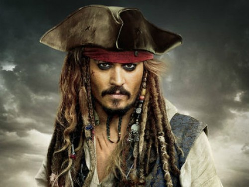 The part of the dead Keith Richards will be played by Captain Jack Sparrow and Katherine Hepburn.
