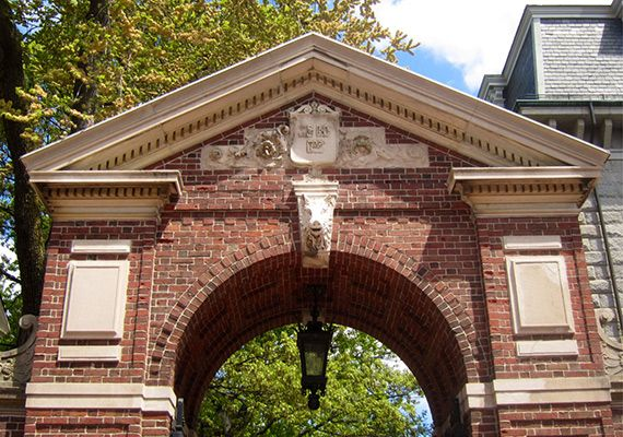 They frog-marched the sorry-ass president through the Porcellian Gate to the foot of John Harvard at University Hall and cut off her head. Here Enders the lesson.