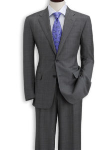The overstuffed gray suit. With no face and no fingerprints. I was grand.